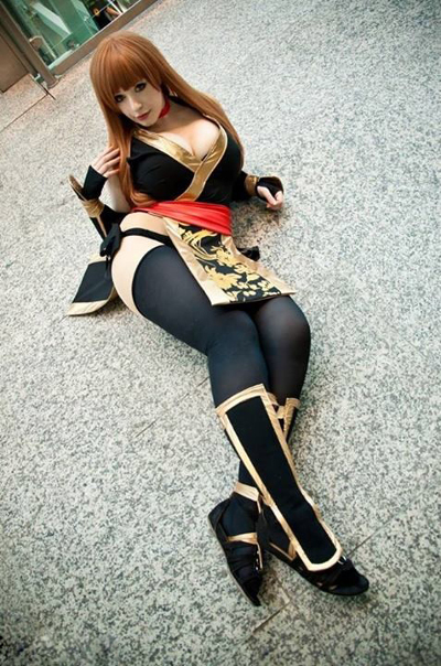 Busty japanese cosplay girl